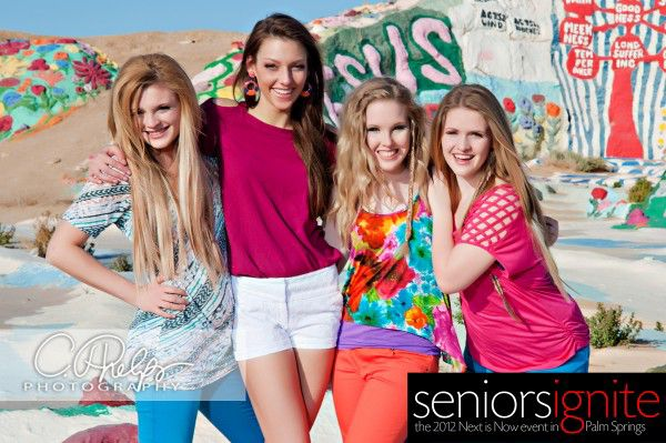 Seniors Ignite Models Millennials