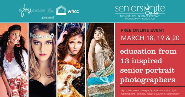 Learn what takes to be a cutting edge senior portrait business
